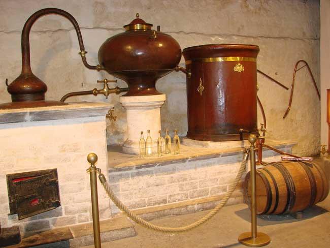 Branntwein Destille
